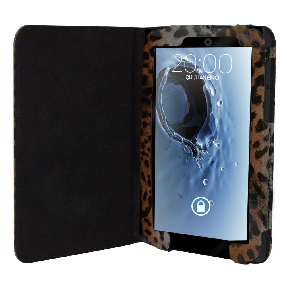 Capa Tablet Samsung Galaxy Tab 2 7 Pol Onça Marrom Escuro