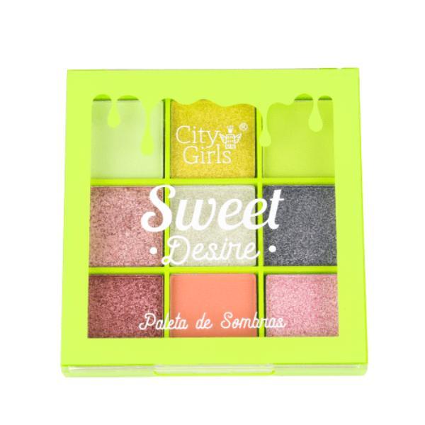 Paleta De Sombras Sweet Desire City Girls A