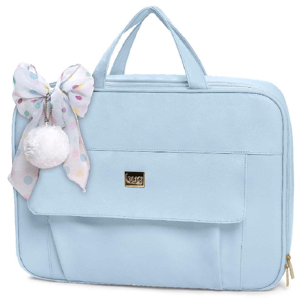 Mala Maternidade Requinte Hug Cor Azul