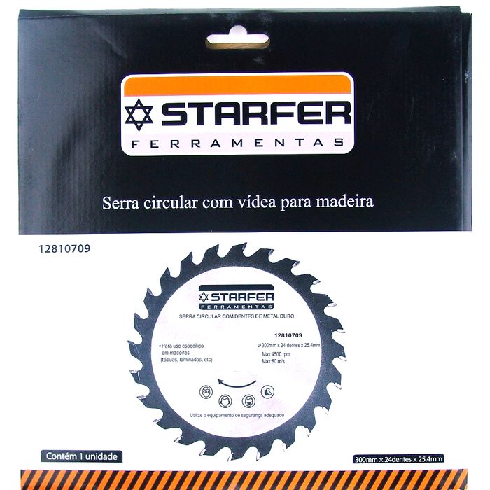 Serra Circular Widea Starfer 300X24