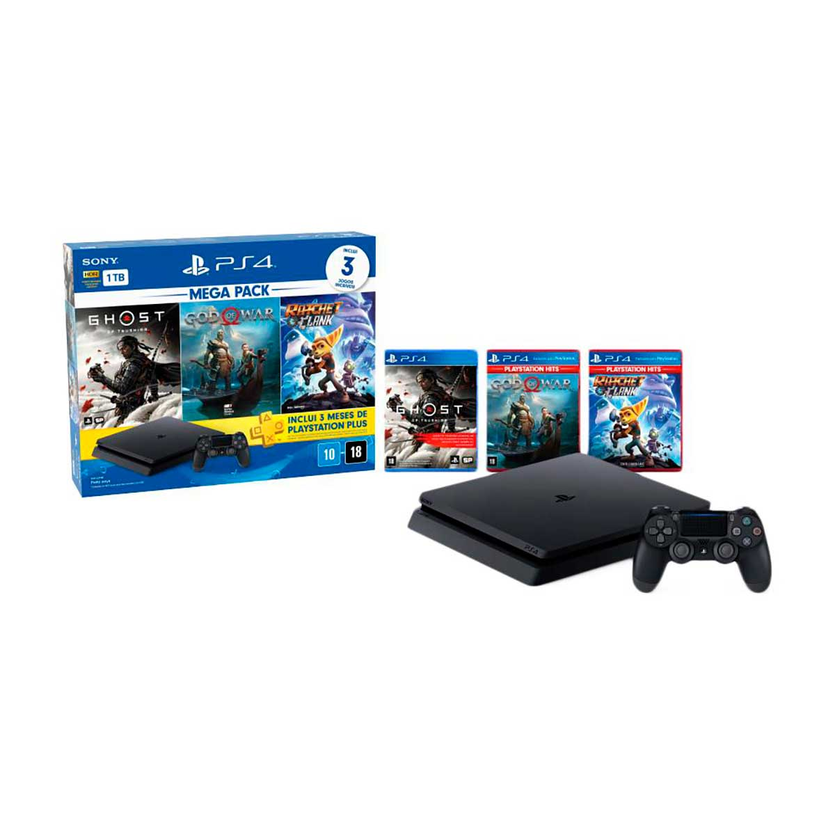 Console Playstation 4 Megapack 18