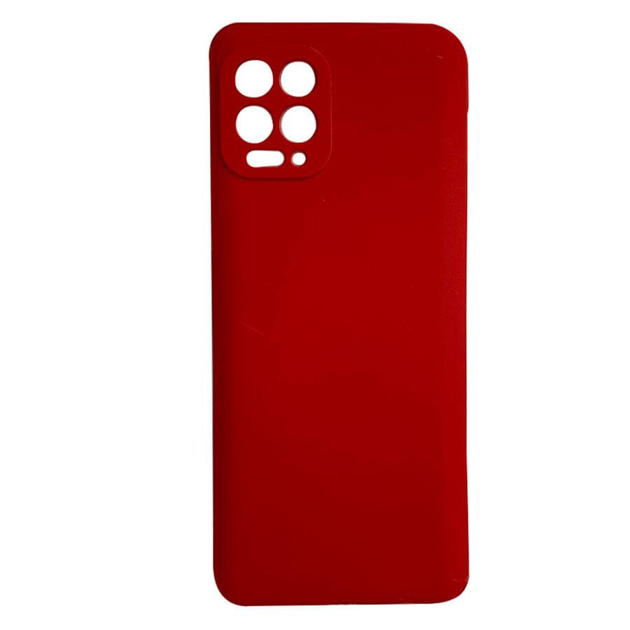 Capa Case De Silicone Colorido Para Motorola Moto G100