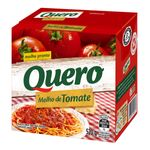 Molho de Tomate Tradicional Quero 520g
