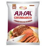 Sal Grosso Branco para Churrasco Aji-Sal 1Kg