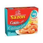 Caldo em Pó de Camarão Sazon 37,5g