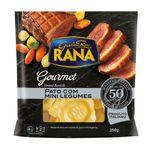 Gran Ravioli com Recheio de Pato com Mini Legumes Rana Gourmet 250g