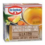 Gelatina Sabor Tangerina, Capim Santo e Limão Siciliano Dr. Oetker 12g
