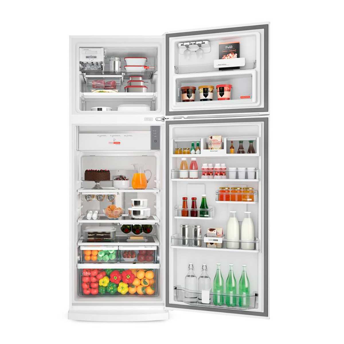 Geladeira Brastemp Frost Free Duplex 478 Litros Branca Com Freeze Control Advanced Brm59ab 110V