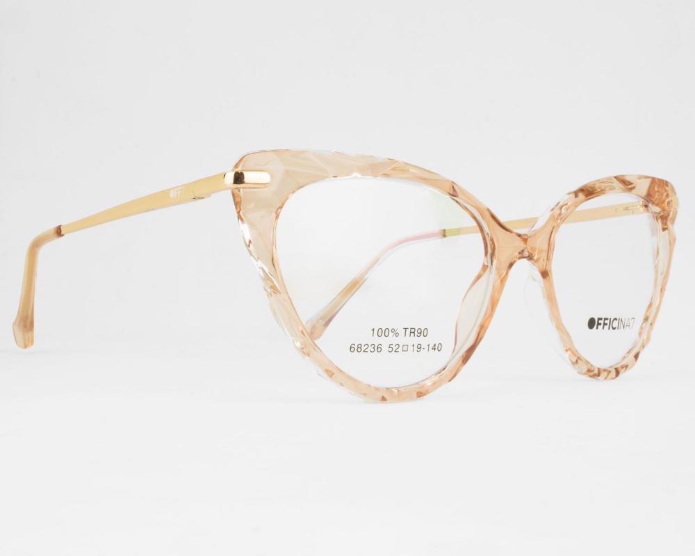 Óculos De Grau Feminino Off7 Londres 68236 C4-52