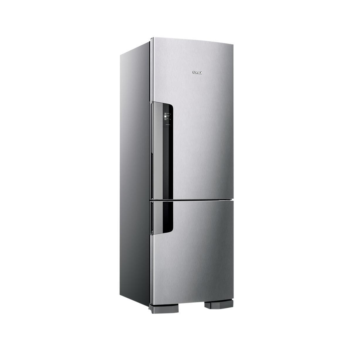 Geladeira Consul Frost Free Duplex Cre44ak 397 Litros Inox 110V