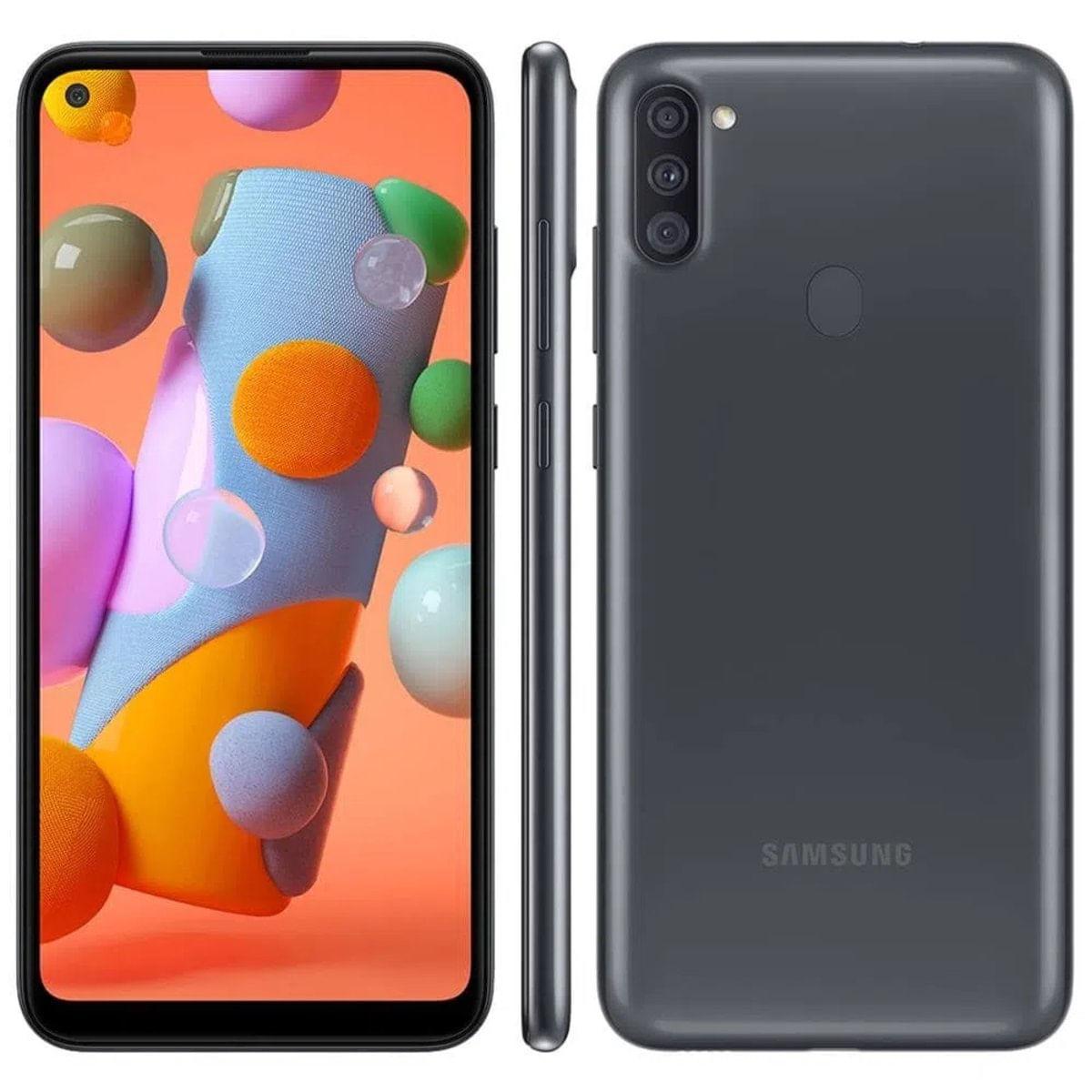 Smartphone Samsung Galaxy A11 64GB 4G Tela 6.4