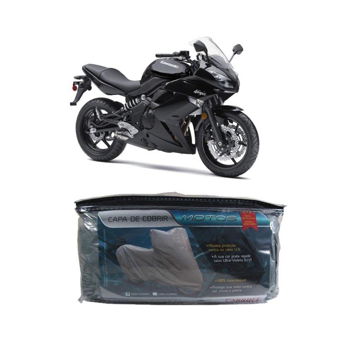 Capa Impermeável Para Cobrir Kawasaki Ninja 650R 649Cc G(220)