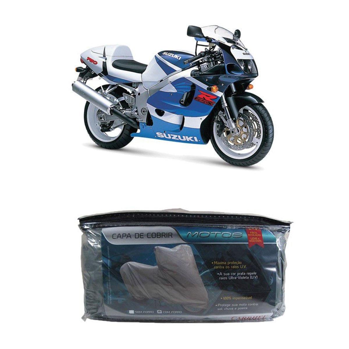 Capa Para Cobrir Suzuki Gsx 750W Srad Com Forro G(203)
