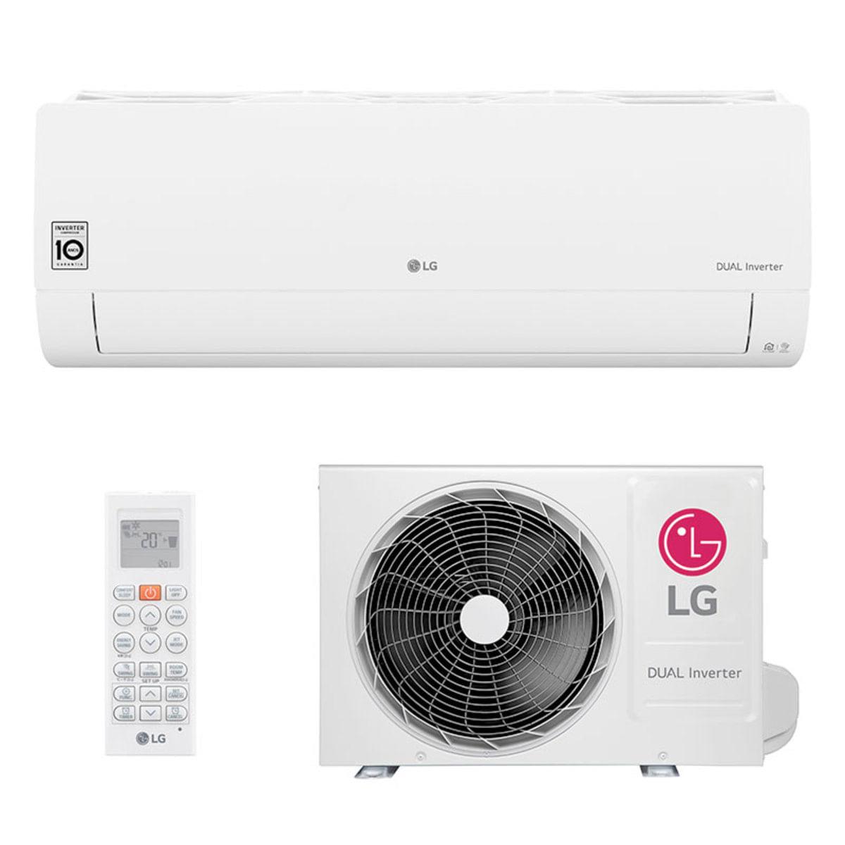Ar-condicionado Split LG 12.000 BTUs Frio Dual Inverter Voice S4UQ12JA31C/S4NQ12JA31C